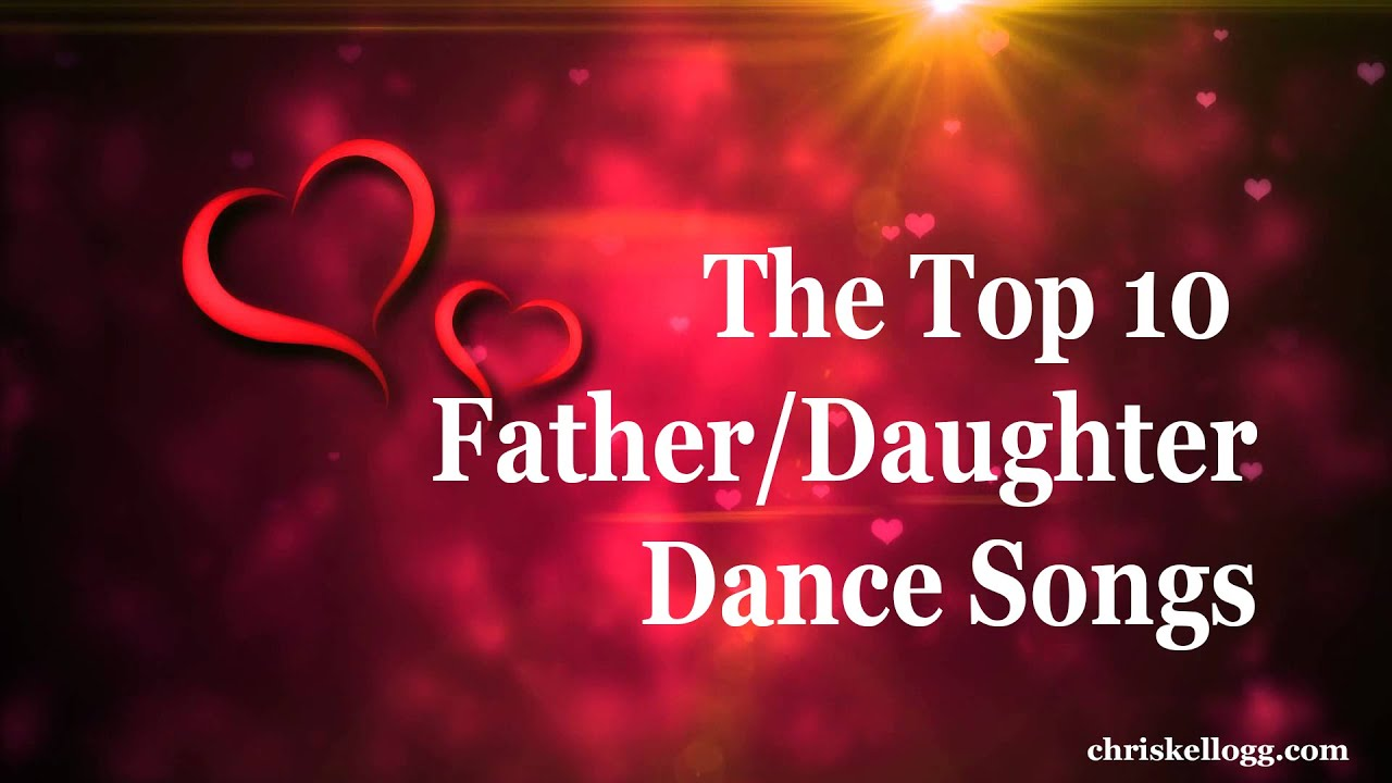 Top 10 Father Daughter Songs Countdown For Weddings