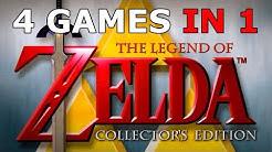 Four Zelda Games in One: Zelda Collector's Edition