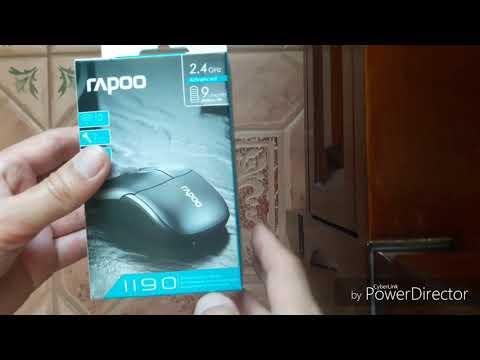 Миша Rapoo 1190 Wireless Black