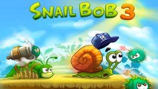 Улитка Боб 3 (Snail Bob 3) прохождение на 3 звезды (уровни 1-7) Прыгающий БОБ