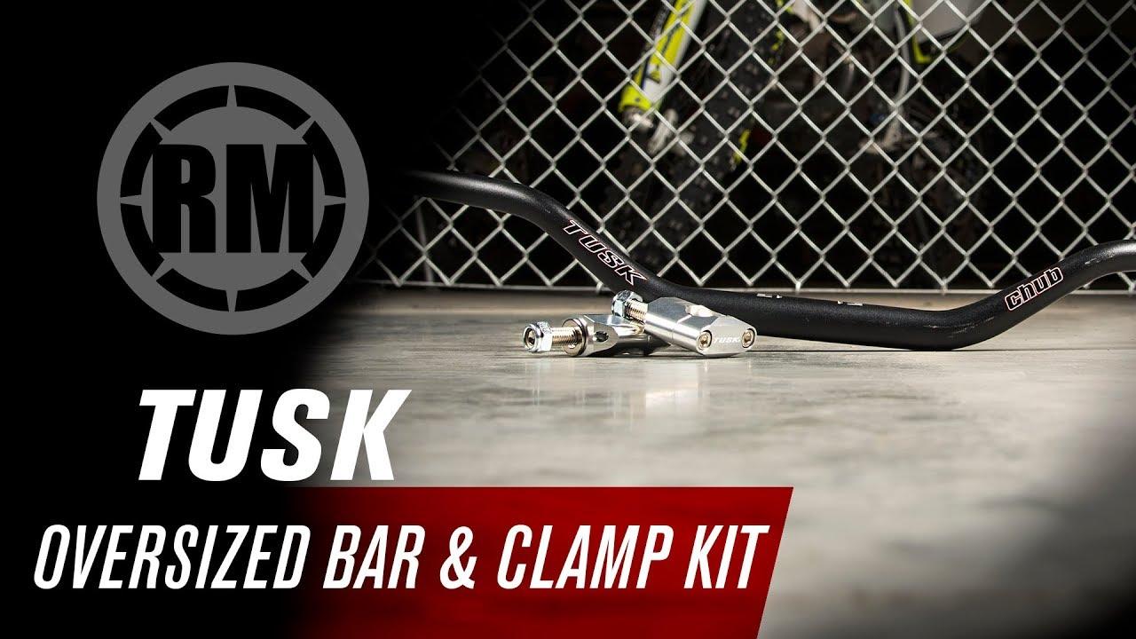 Tusk Universal Oversized Handlebar Clamp and Bar Kit Tusk Chub Big Bar CR High B