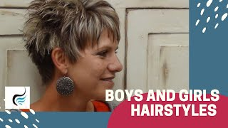 How To Cut Trendy Summer Hairstyle | Hair Tutorial By Radona