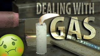 TIG: Effects of Gas Flow Settings