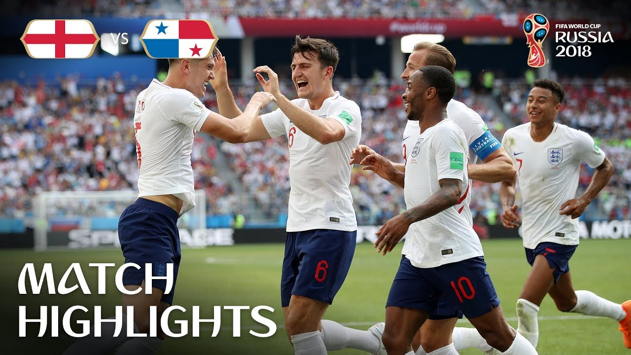 8dc4681450d England v Panama - 2018 FIFA World Cup Russia™ - Match 30 - YouTube
