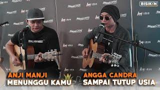 Download lagu Menunggu Kamu  Medley Sampai Tutup Usia - Anji x Angga Candra (KOLABORASI)