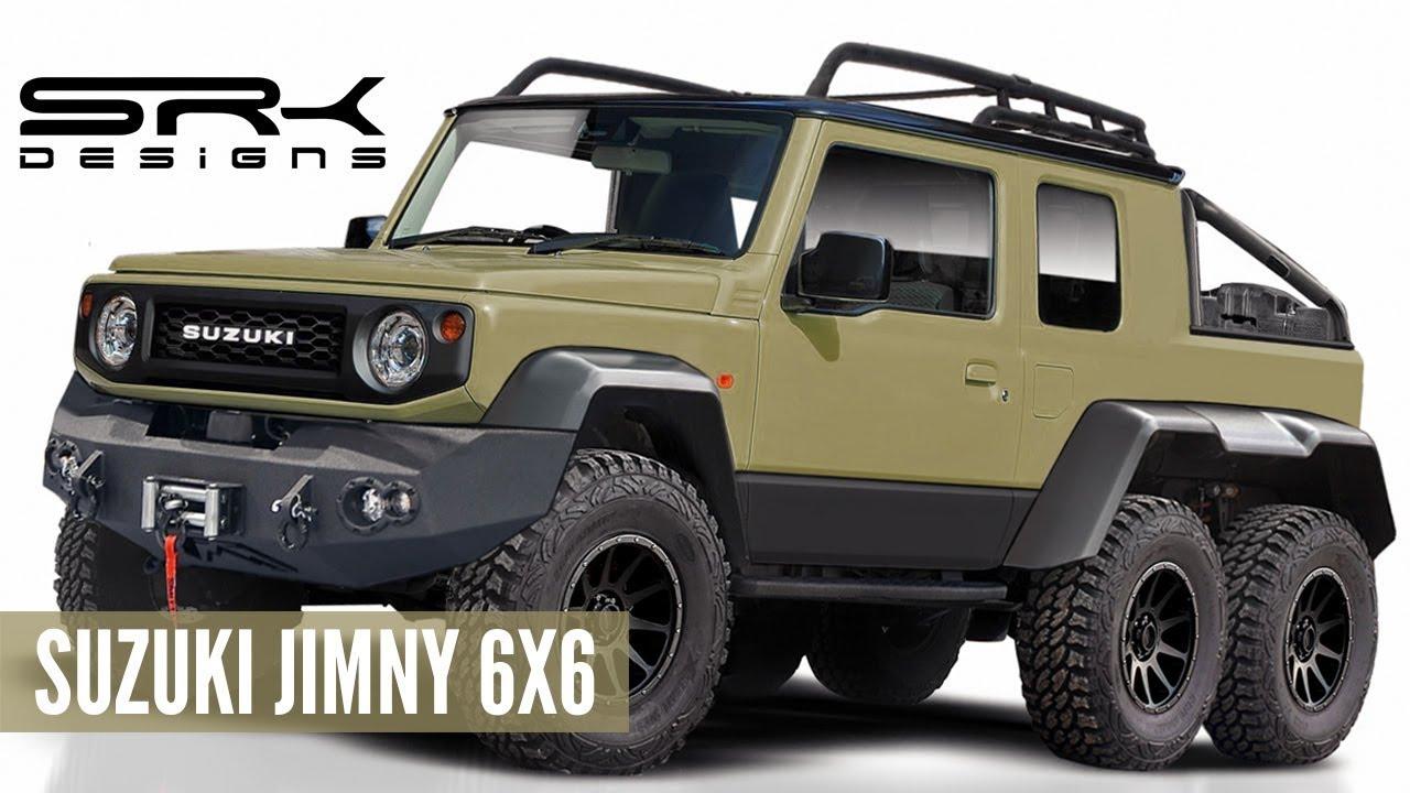 Suzuki Jimny 6x6 Off Road Rendering Making Video Srk