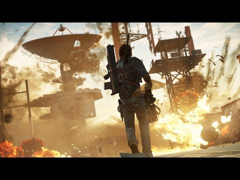 Just Cause 3 Funny Montage Trailer?