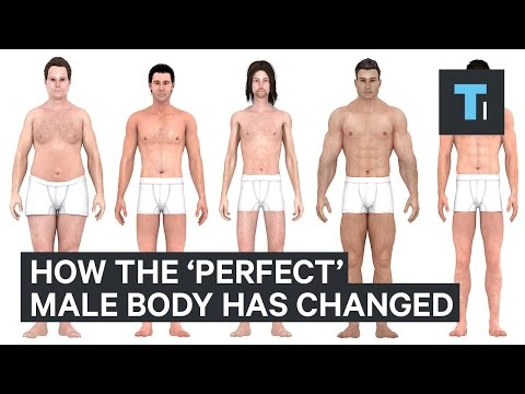 Thumbnail: How the perfect body for men has changed over the last 150 years