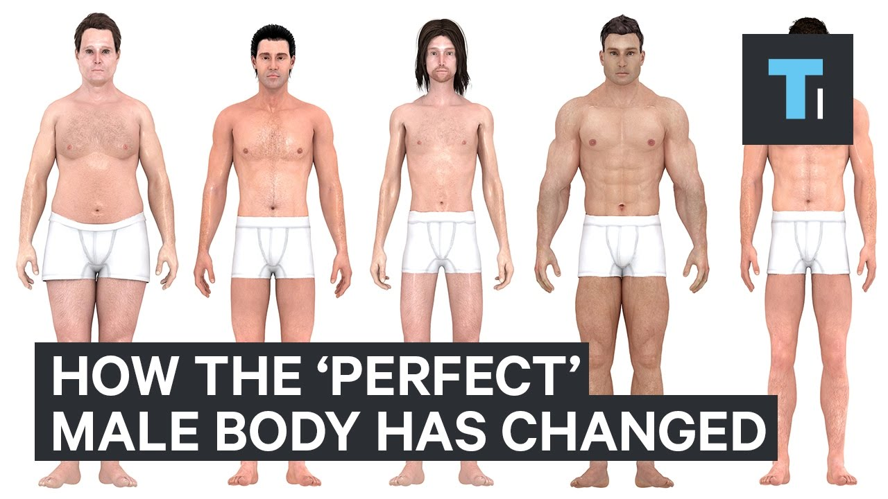 how the perfect body for men has changed over the last 150 years youtube. Black Bedroom Furniture Sets. Home Design Ideas