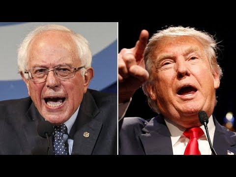 Trump Supporter Wants Him to Be King...But Says Bernie is Biggest Threat