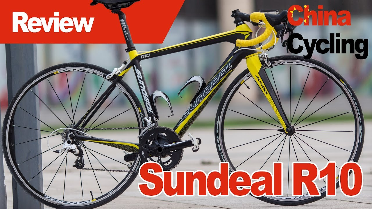 549fcf46072 Chinese sub- 1000 Carbon Road bike - Sundeal R10 Review - YouTube