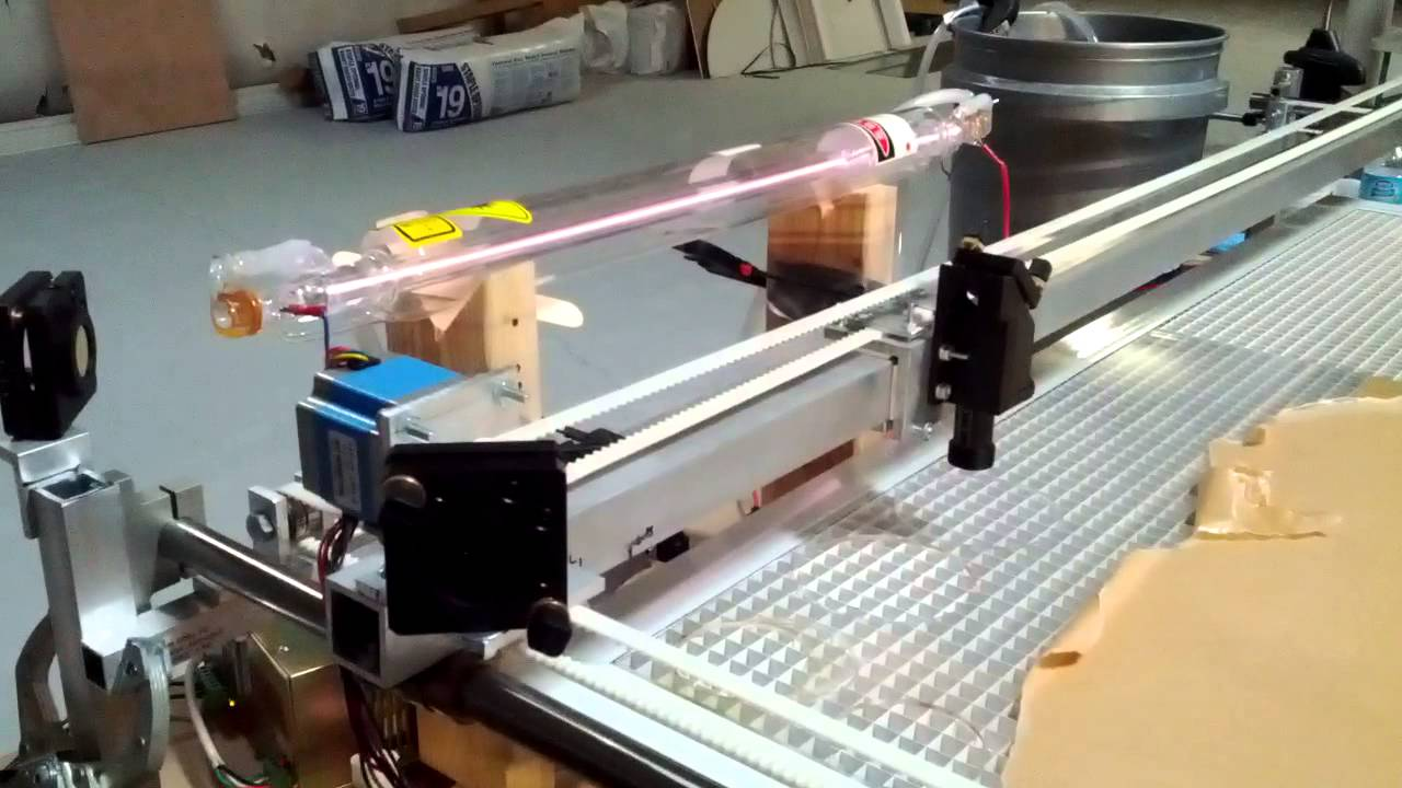 Diy Laser Cutter Test Cut Youtube