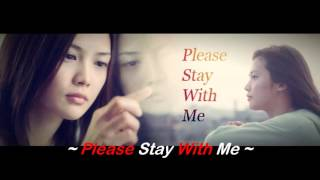 Gambar cover Lyrics Yui - Please Stay With Me Male Version  Cover #iCem Crew