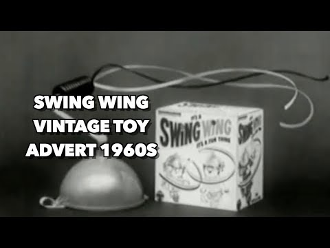 Swing Wing vintage toy advert 1960s