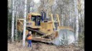 Johnny Cash-Heavy Metal starring the D-Series of Dozer YouTube Videos