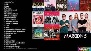 마룬파이브:Maroon5 인기노래모음(연속재생)