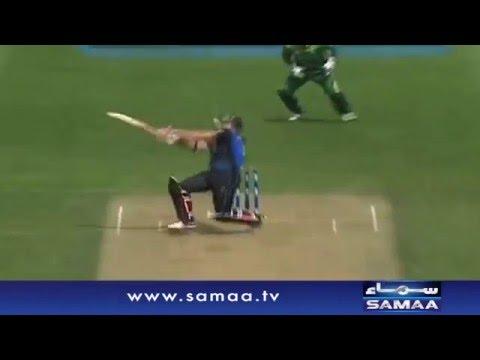 Anwar ALi ki Jaandar bowling - News Package - 25 Jan 2016