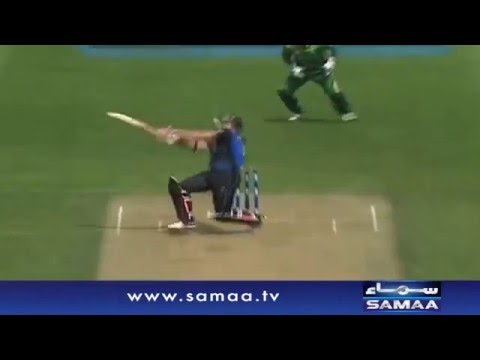 Anwar ALi ki Jaandar bowling - News Package - 25 Jan 2016