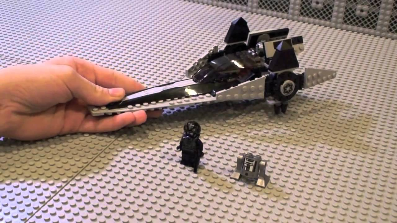 lego imperial v wing instructions