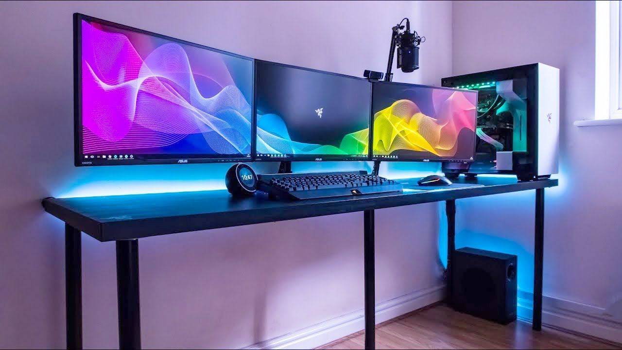 5 Best Budget Gaming Desks In 2019 Youtube
