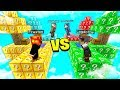 MINECRAFT 1v1v1v1 OVERPOWERED LUCKY BLOCK BATTLE With MooseCraft Minecraft Mods mp3