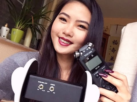 ASMR - Super Delicate Touching & Tapping on Ears/Mic [3Dio|TASCAM] NO TALKING