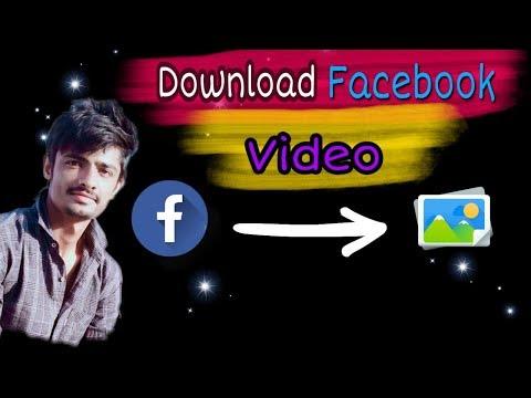 How to download Facebook video  download facebook video in gallery