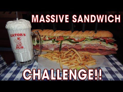 MASSIVE ITALIAN SUB SANDWICH CHALLENGE!!