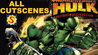 The Incredible Hulk: Ultimate Destruction - All Cutscenes / Full Movie