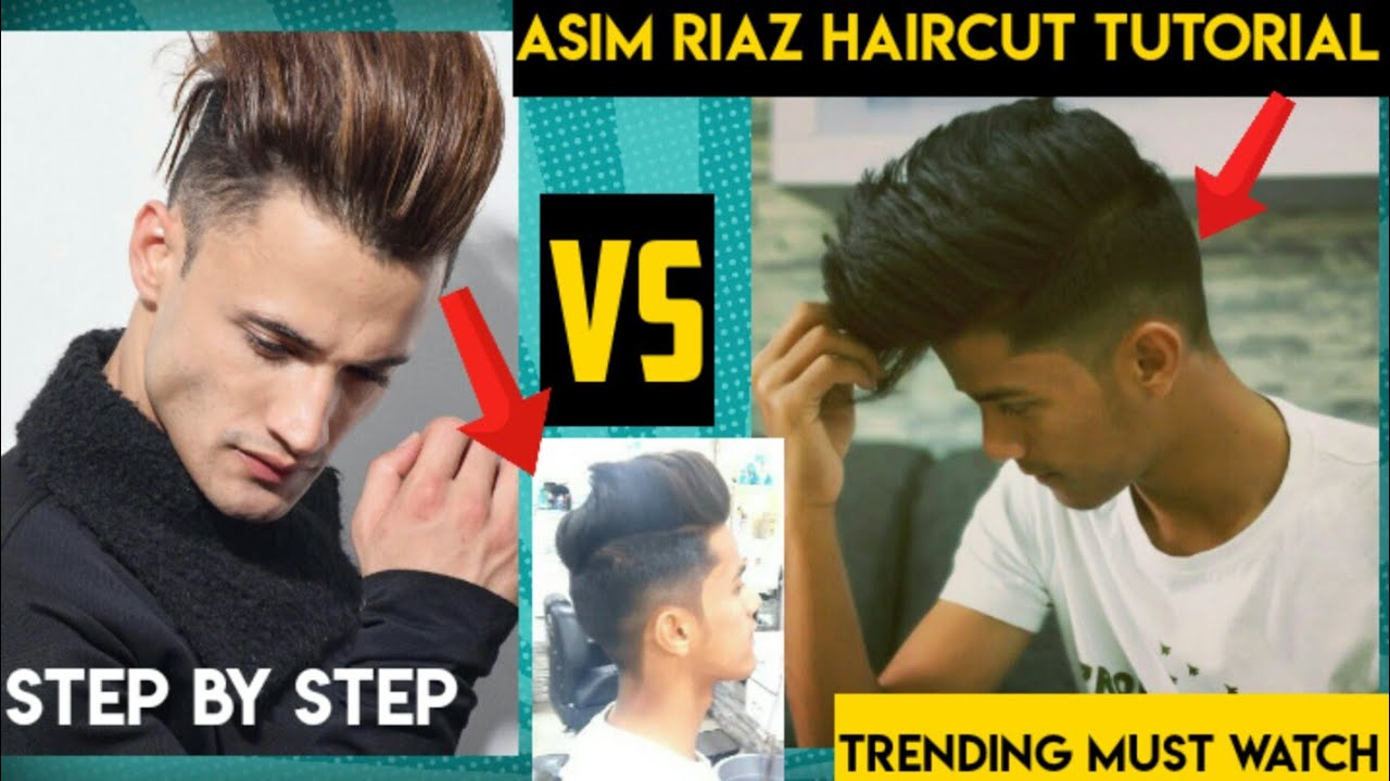 New) Asim Riaz Hairstyle Tutorial (10)  BigBoss  Step by Step