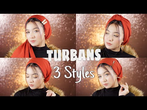 My 3 Favourite Turban Styles || My Most Worn Turban Styles || - YouTube