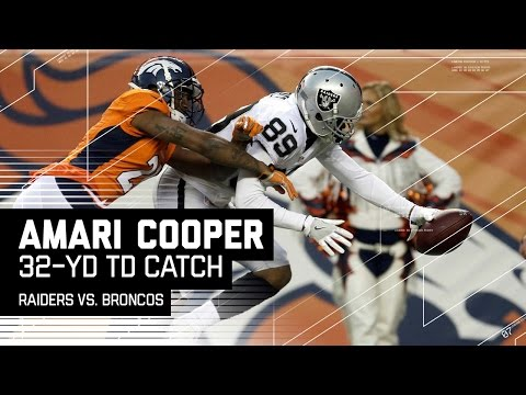 Amari Cooper Makes Great Catch & Stretches for the TD!   NFL Week 17 Highlights