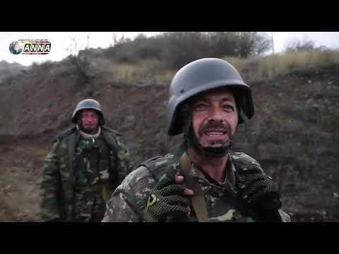 Бои за Шуши. Видео с армянской стороны.