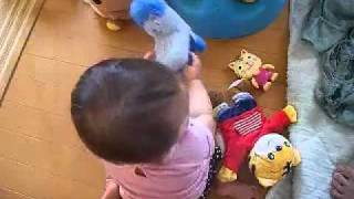 ukulele&baby de misfits(´∀`)ウクレレでミスフィッツに挑戦(´∀`)We B...