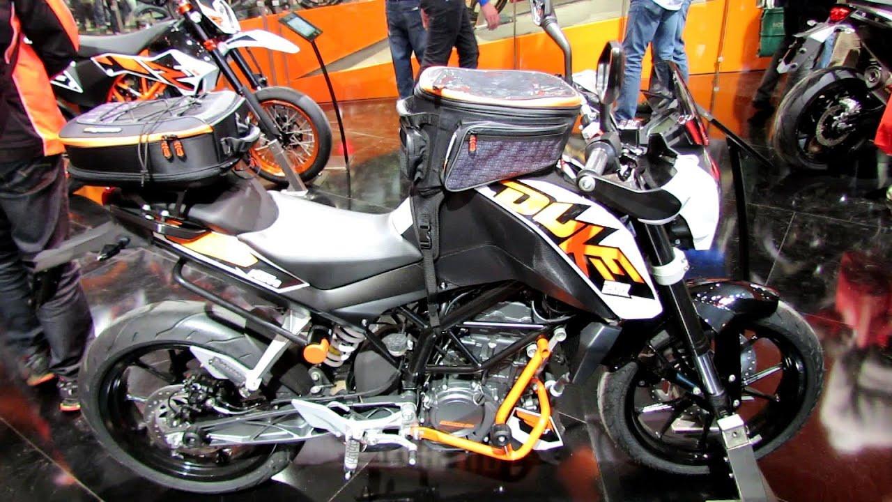 2014 ktm 200 duke walkaround - 2013 eicma milan motorcycle