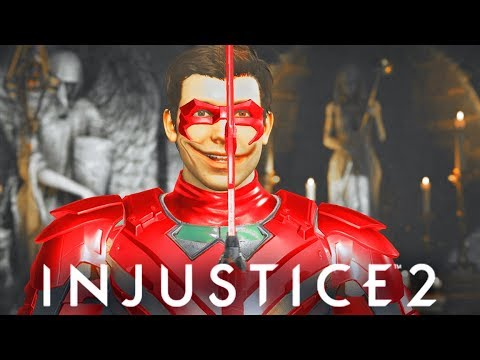 INJUSTICE 2 - ALL Robin most SAVAGE DIALOGUES! (Best trash Talker)