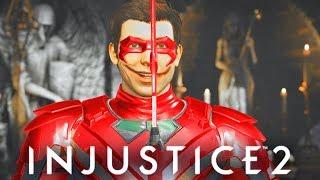 INJUSTICE 2 - ALL Robin most SAVAGE DIALOGUES! (Best trash Talker)