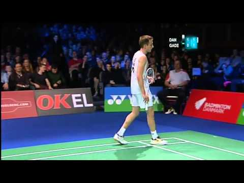 [Full] Badminton Lin Dan vs Peter Gade 2012 Copenhagen Masters