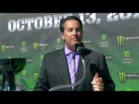 Monster Energy Cup Live Stream Press Event