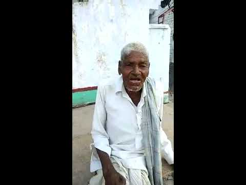 Old man Singing Telugu song | Ekkada unna unna pakkana nuve unnatundi song