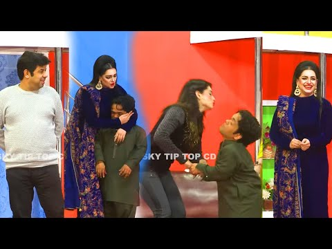 Vicky Kodu and Naseem Vicky with Mehak Noor   New Stage Drama   Ishq Beparwah   New Comedy Clip 2020