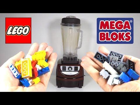 Will it Blend? LEGO vs MEGA BLOKS