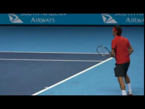 Roger Federer Forehand From The Side