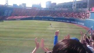 2016/3/2 DeNA ホームラン時の横浜市歌