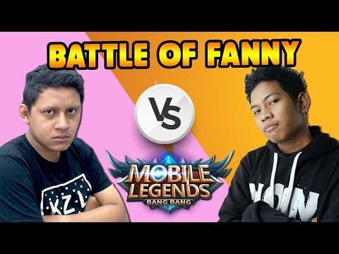 KETIKA DUA PLAYER FANNY BERTEMU DI MID LANE !!! - MLBB INDONESIA !!
