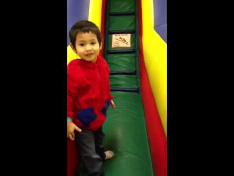Devin At Super Party Jump Zone