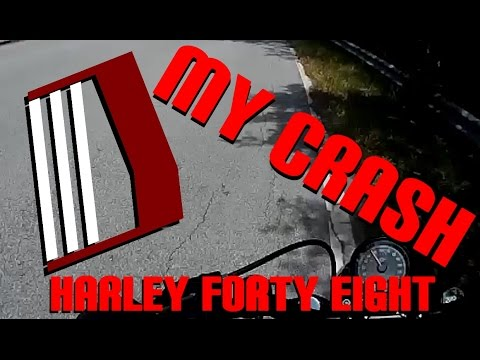 Motorcycle Crash! Video Of My Recent Accident On My Harley Davidson
