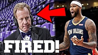 Grant Napear Gets Fired By Sacramento Kings After Insensitive Twitter Comments To Demarcus Cousins