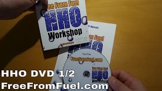 HHO DVD - FreeFromFuel.com 1/2 - HHO Workshop builders DVD for sale