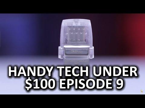 Handy Tech Under $100 Episode 9 - So geeky, so cool